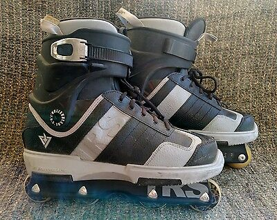 Rollerblade TRS downtown DT4 Aggressive Xgames inline skates size 10