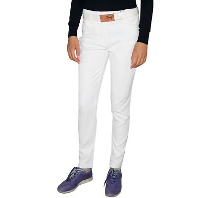 New J.Lindeberg Womens Jasmine Micro Stretch Pants - White