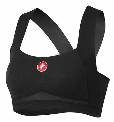 Castelli Rosso Corsa Light Bra SIZE XL BLACK 1a