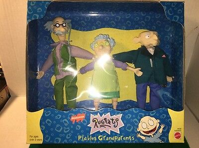 Rugrats Pickles Grandparents Mattel 69339, NIB, Free Shipping!!!