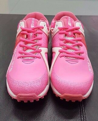 Grays G9000 Pink Sample Hockey Shoes Size 7 US Mens/ Womans 8.5