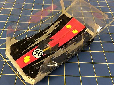 JK Products Group 12 Box Stock Wing Car RTR Slot Car 1/24 #50 MidAmerica Raceway
