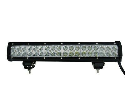 "17"" inch CREE LED LIGHT BAR OFFROAD MARINE 108W Spot/Flood Combo"