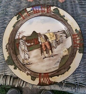royal doulton blood money plate