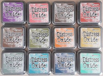 (You Choose) Tim Holtz ~ Distress OXIDE Ink Pads ~ 12 Colours to choose from #1