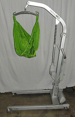 Hill Rom Liko Viking M Electric Patient Lift W/ Sling & New hand control