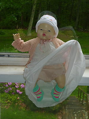 "Ideal Toy Corp TT 21 Thumbelina doll 18"" Tall Redressed Cries 1984"