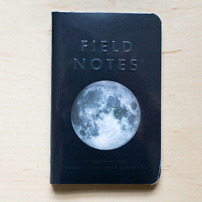 FIELD NOTES Lunacy - 3 Sealed Notebooks, Fall 2016 Moon Edition