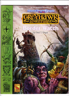 WGM1 - Border Watch - Greyhawk Adventures - AD&D - Sealed in Original Shrinkwrap