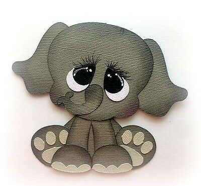 Pound Pal Elephant Animal Zoo Premade Paper Piecing  3D Die Cut Mytb Kira
