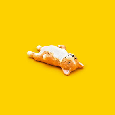 Takara Tomy Panda's ana Zoo Zzz Sleeping Animal Collection P1 Dog Shiba
