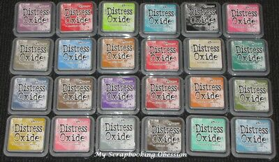 Tim Holtz Ranger DISTRESS OXIDE INK PAD x1 (Choose from 12)Non-Toxic Acid Free