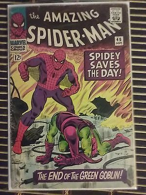 The Amazing Spider-Man #40 (Sep 1966, Marvel)Never graded, appraised at F to VF.