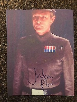 Julian Glover Star Wars General Veers Autograph Signed Picture