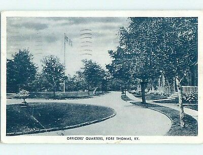 Damaged W-Border Military OFFICERS QUARTERS Fort Thomas Kentucky KY HM8588