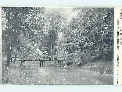 Divided-Back POSTCARD FROM Chesterton Indiana IN HM7611
