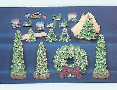 1980's Postcard Ad CHRISTMAS ORNAMENTS FROM NOWELL'S MOLDS Bowie MD HM4417