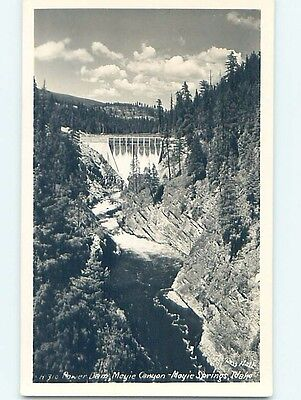Old rppc POWER DAM AT CANYON Moyie Springs Idaho ID HM4124