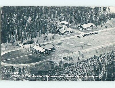 1956 rppc CONSERVATION CAMP - EARLY ENVIRONMENTAL EFFORT Eagle River WI HM2539