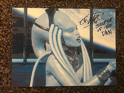John Coppinger Scultor The Fifth Element Diva Autograph Signed Picture