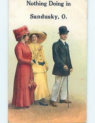 Divided-Back POSTCARD FROM Sandusky Ohio OH HM6296