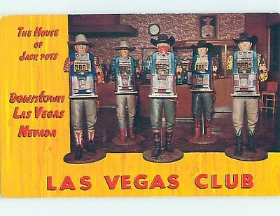 1960's CLASSIC WESTERN THEMED SLOT MACHINES Las Vegas Nevada NV hn5278