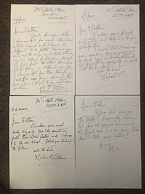Michael Culver Star Wars Captain Needa Autographed Signed Letters