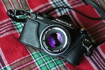 Pentax MV SLR Film Camera With Pentax-M SMC 50mm f2 Lens