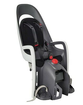 Hamax Childseat caress pannier rack grey/white/black, pannier rackmounting
