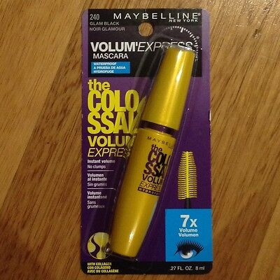 Maybelline Colossal Mascara - GLAM BLACK  WATERPROOF (240)