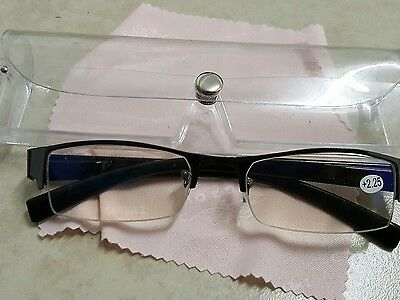 5Pairs Mens Ladies Frame Magnifying Reading Glasses Nerd Spectacle