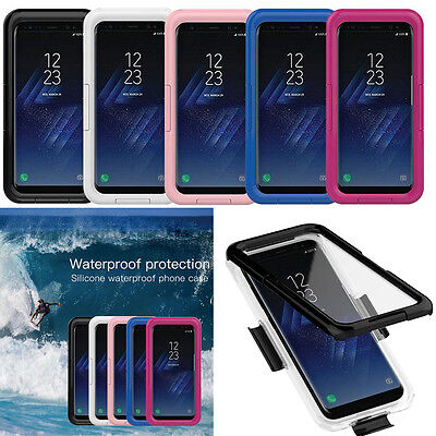 Waterproof Dirtproof Shockproof Hard Tough Case Cover For Samsung Galaxy S8 Plus