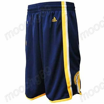 New Navy blue Indiana Pacers Men's Basketball Shorts Size:S,M,L,XL,XXL