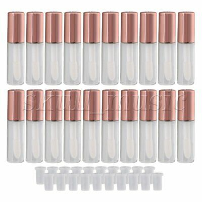 BQLZR 20Pcs 1.2ml Empty Lip Gloss Tube Lip Balm Bottle Container Makeup Tools