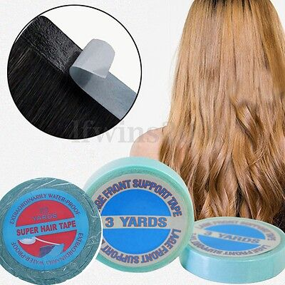 0,8 x 20.0m SUPER BONDING TAPE TAPEBAND TAPE EXTENSIONS HAARVERLÄNGERUNG TRESSEN