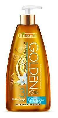 Bielenda Golden Oils Moisturising Bath Shower Oil Olejek pod Prysznic 150ml