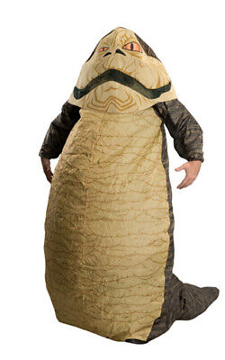 Jabba The Hutt Inflatable Star Wars Adult Mens Licensed Fancy Dress Costume