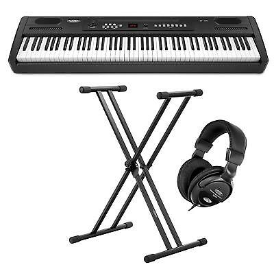 Digital Piano Electronic Keyboard 88 Keys 64 Polyphony Set Support Headphones