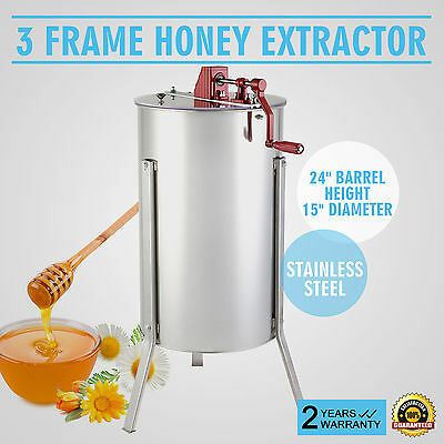 "Extracteur De Miel Miel Apiculture 15"" Diamètre Reliable Seller Strong Packing"