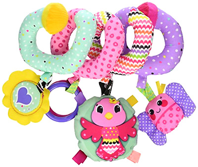 Baby Spiral Activity Toy Develop Play Fun Hanging Cute Stroller Crib Car Seat