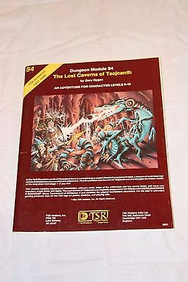 Advanced Dungeon And Dragons Module S4 Lost Caverns Of Tsojcanth Vg Cond & Comp.