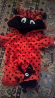 DESIGN A BEAR chad valley hooded  Ladybird body & slippers