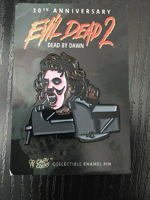 Evil Dead 2 Pin Badge Cavity Colours (Blu Ray Interest)