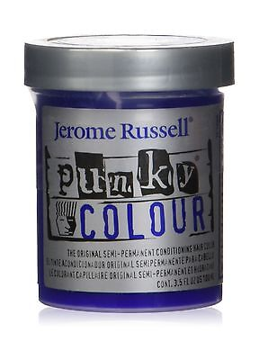 Jerome Russell Punky Colour Semi Permanent Conditioning Hair Color Atlantic B...