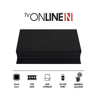 Avov TV Online N - Ultra HD 4K IPTV - Set-Top-Box