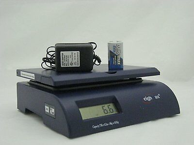 75lb Digital Postal Shipping Scale. Package Weight Bench Pound Letter Mail Box