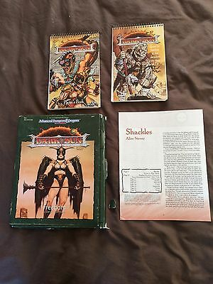 Dark Sun Freedom DS1 100% complete TSR Advanced Dungeons & Dragons 2nd ed AD&D