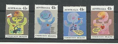 AUSTRALIA 1990  Community Health   umm / mnh set