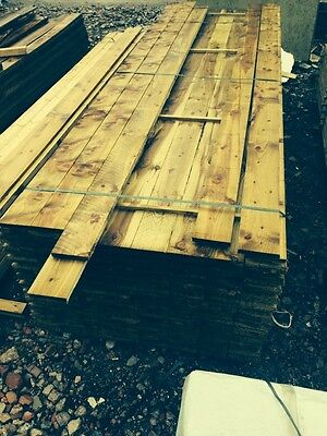 Timber 6X1 Treated 4.8m  Long For Fencing  Cladding Etc