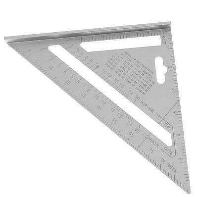 7in Right Angle Triangle Aluminium Alloy Ruler Saw Guide for Woodwork Industry